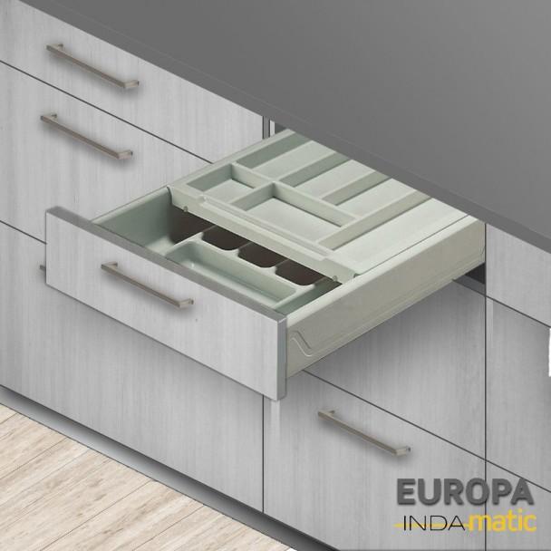 Gaveta de Cozinha Duplo Cubertero Europa PVC