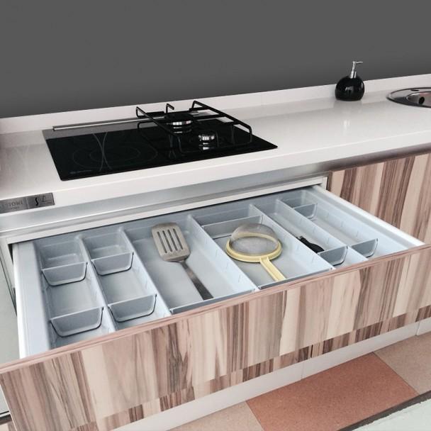 Cubertero Modular para Gaveta Cozinha Blum