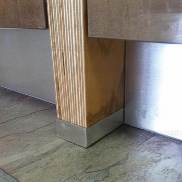 Perfil Protetor Lados Armário De Cozinha