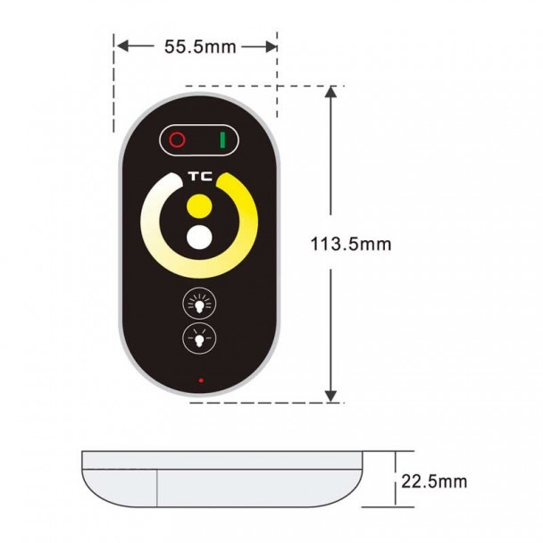 Controlador De Temperatura Luzes Led Strip Emozione