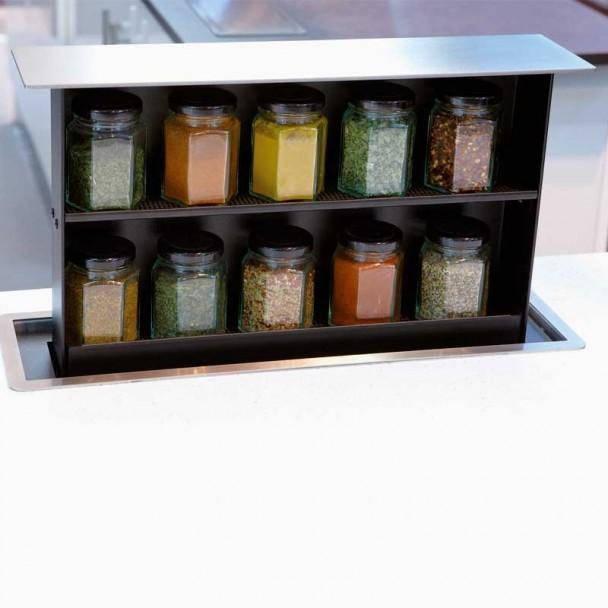 Spice Box Apoio para Bancada