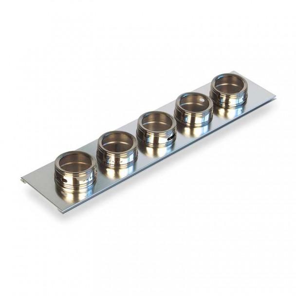 Portaespecias Aço Inox Cubertero Design
