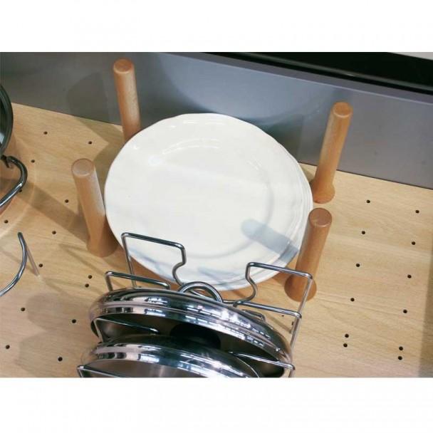 Set de 4 Cilindros Separadores para Base Perfurada Open Space