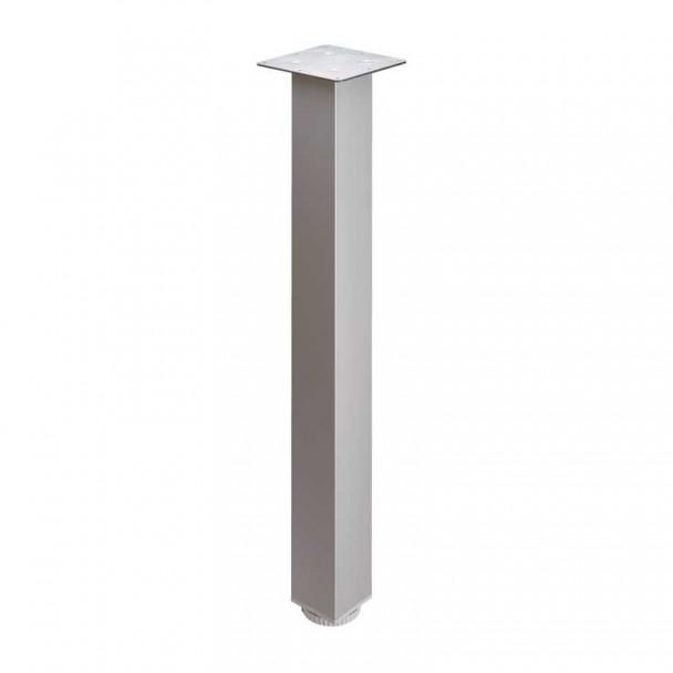 Perna de Alumínio Quadrada para Mesa