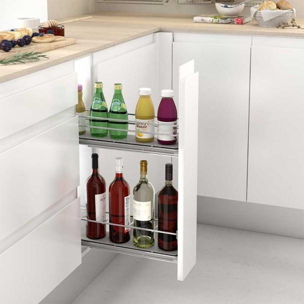 Módulo Rack Frontal Extraível Cozinha Linha Clássica