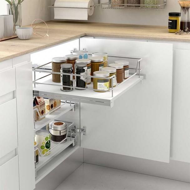 Cesto Multiuso Extraível Cozinha Linha Compact