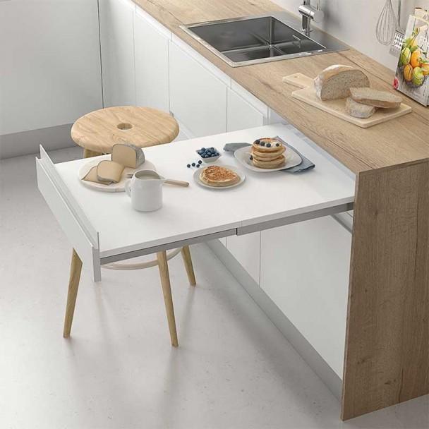 Ferragem Removível Mesa Cozinha A Linha Compact