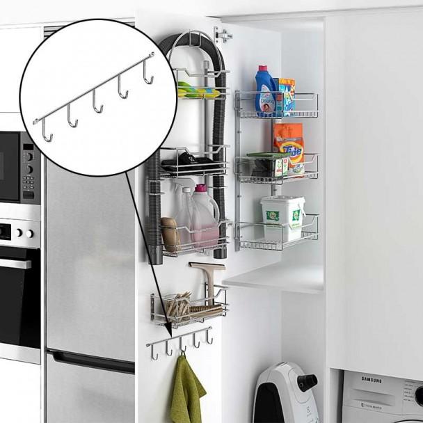 Cabide para Lenços Lateral Cozinha Linha Clássica