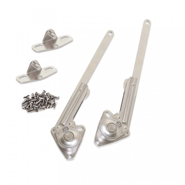 Dobradiças para Portas de Baú Força 20 - 70 kg x cm Emuca NSDX