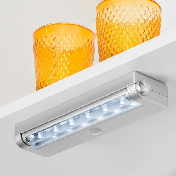 Luz LED de Pilhas com Sensor de Movimento Phoenix Luz Fria