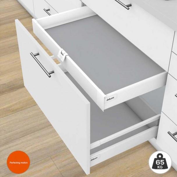 Gaveta Interior Branco 65 kg Tandembox Antaro M para cozinha