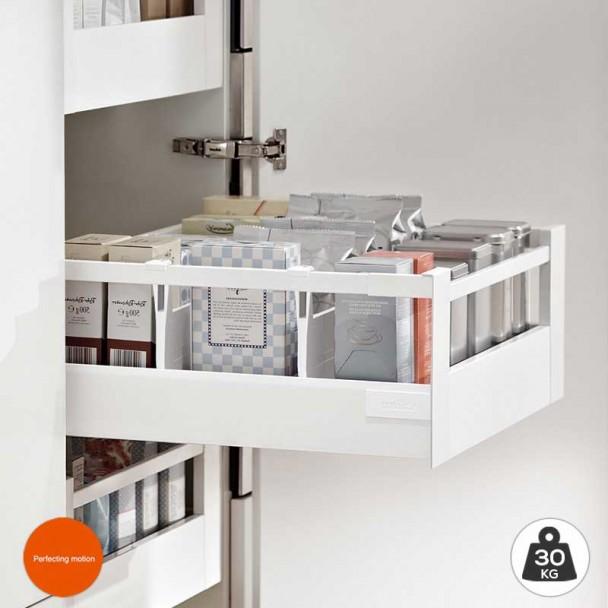 Extensão de Interior Branco 30 kg Tandembox Antaro D para cozinha