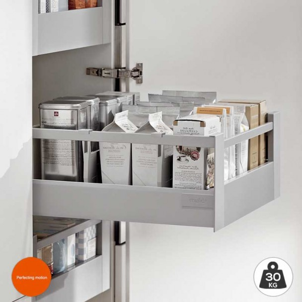 Extensão Interior Cinza 30 kg Tandembox Antaro D para cozinha