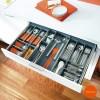 Cubertero Aço Inoxidável ORGA-LINE para Gaveta de Cozinha