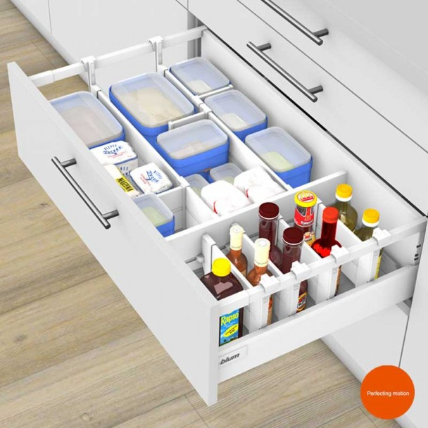 Kit Organizador C ORGA-LINE para Extensões de Cozinha