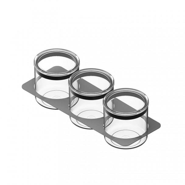 Conjuntos de Potes 3x1000 ml para Cubertero Classic