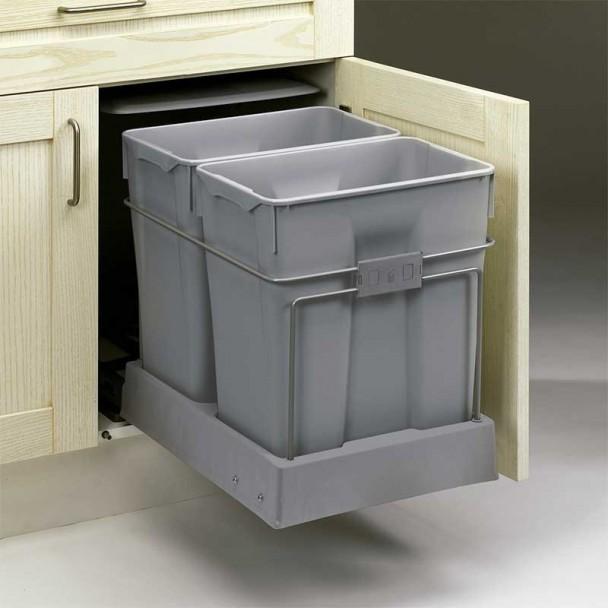 Balde de Lixo Ecológico 30 + 30 L