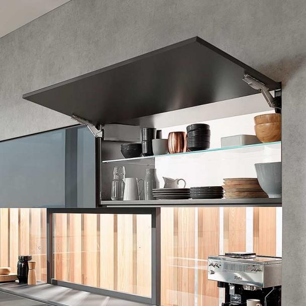 Dobradiça Articulada Cozinha Blum Aventos HK Top