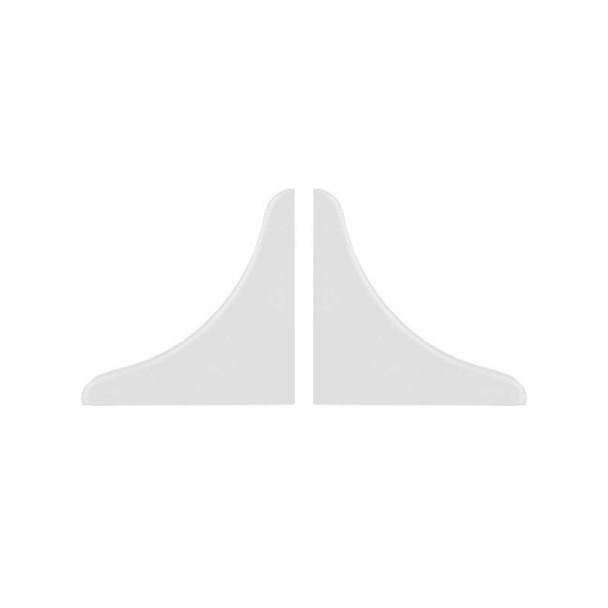 Tampas Topete Isolante para Bancada Branco (2 pçs)