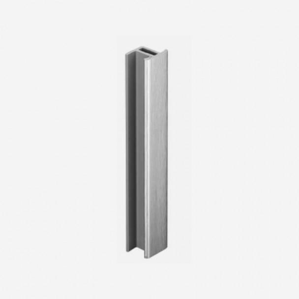 União Alumínio Escovado para Rodapé de PVC Cozinha