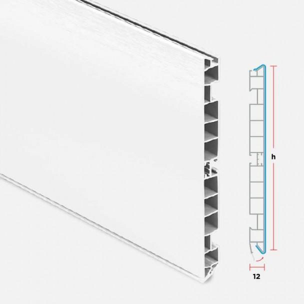 Rodapé de PVC Branco para Cozinha