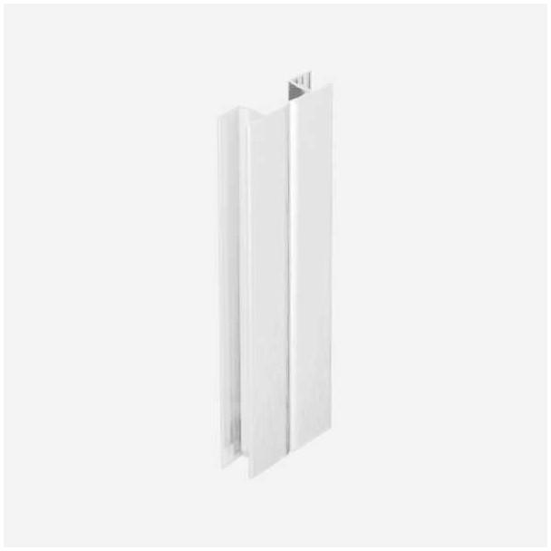 Multi-ângulo Branco para Rodapé de PVC de Cozinha