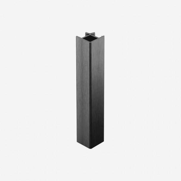 Ângulo 90º Antracite para Rodapé de PVC de Cozinha