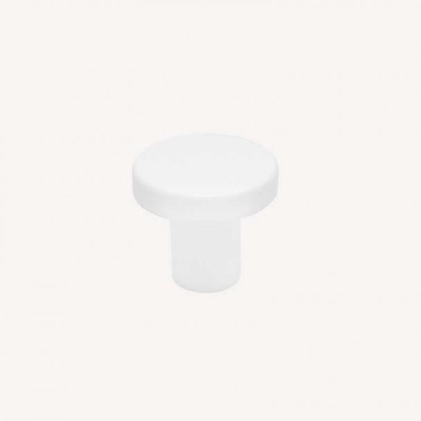 Maçaneta de Zamak Branco Fosco 2078E