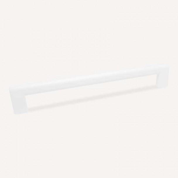Puxador de Zamak Branco Fosco 4741