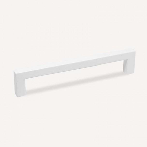Puxador de Zamak Branco Fosco 4789