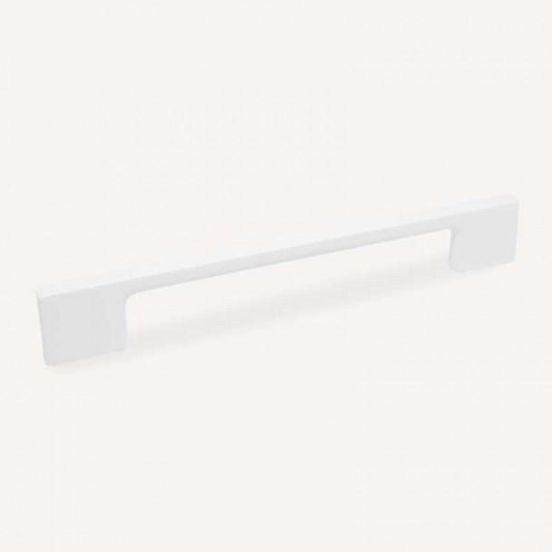 Puxador de Zamak Branco Fosco 4706