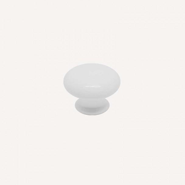 Maçaneta de Resina Branco Fosco 3001