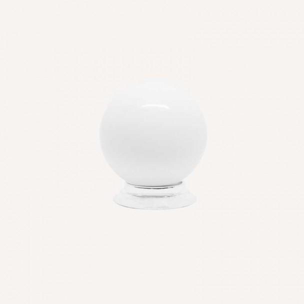 Maçaneta de Resina Branco Fosco 3417