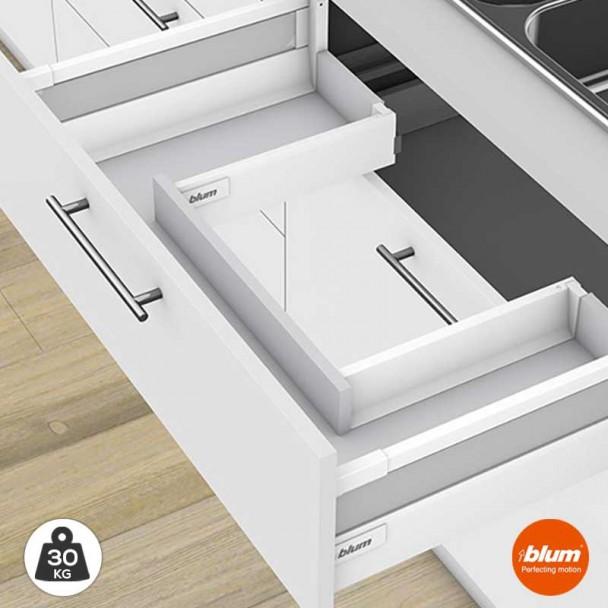 Extensão de Armário de Pia de Cozinha 30 kg Tandembox Antaro D