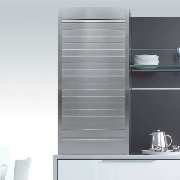 Kit Persiana Alumínio Natural para Móveis de Cozinha